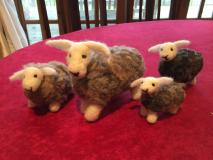 Needle Felt Sheep