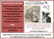 FREE Drawing Cats & Dogs via email